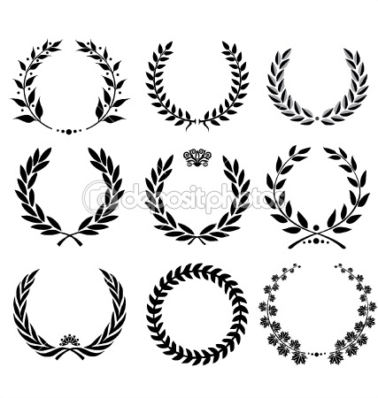 Laurel Wreaths. The first one.