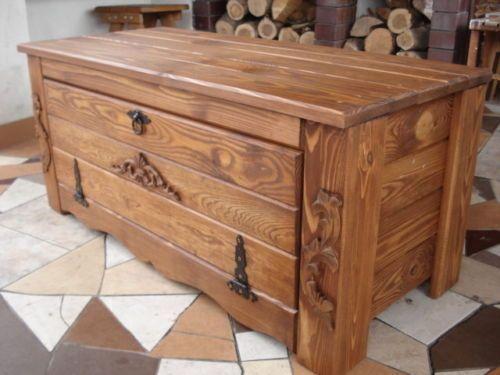 Oltre 25 fantastiche idee su baule legno su pinterest for Cassapanca rovere