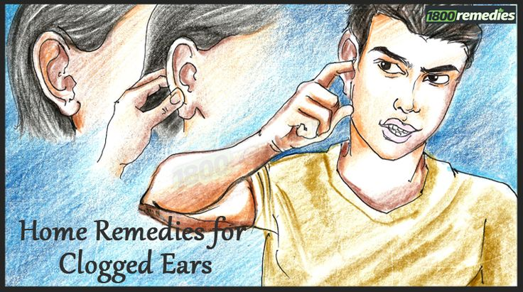 Sinus infection is one of the prime cause of clogged ears. The issue can be well treated at home using given remedies for clogged ears. Try it today!