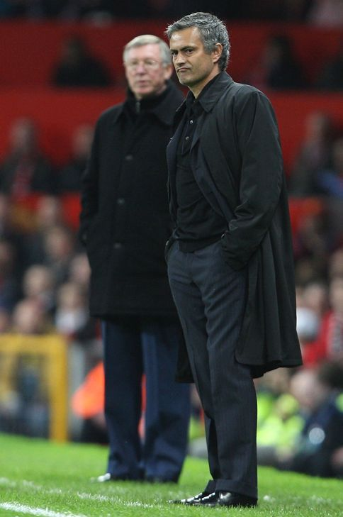 Two of the greatest managers. Sir Alex & Mourinho