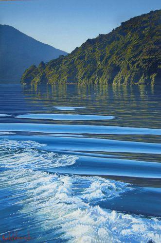 Marlborough Sounds,Upper South Island, New Zealand ~