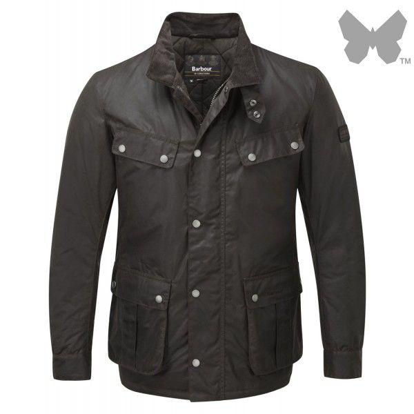 Barbour International Men's Duke Jacket – Rustic MWX0337RU52 - Men's Wax Jackets - Men's Jackets and Coats - MEN | Country Attire