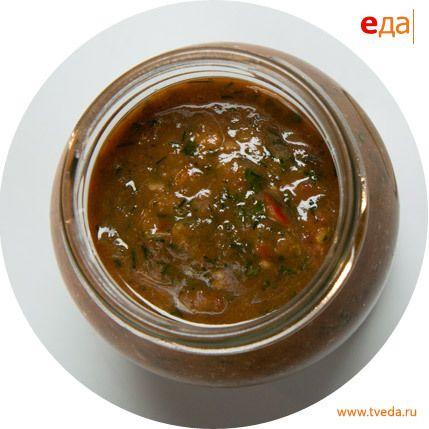 Пряный томатный соус. Рецепт: http://www.tveda.ru/recepty/pryanyy-tomatnyy-sous/