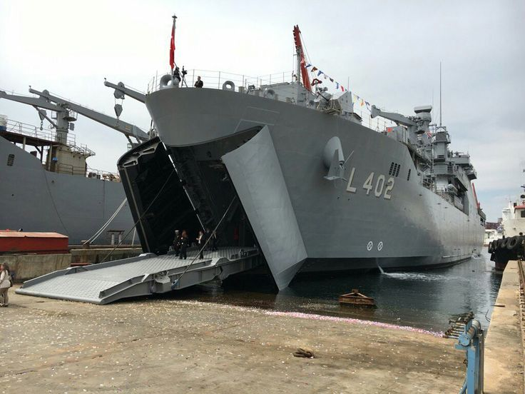 #Turkishnavalforces - Turkey National Ship Program, Landing Ship Tank(LST) - TCG Bayraktar