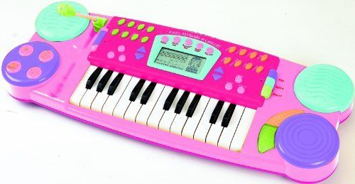 Winfun Sing Along Magic Keyboard In Concert Pink By
