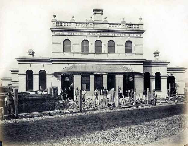 Gloucester Road Station, 1868.