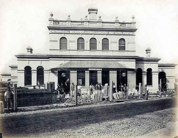 Gloucester Road Station, 1868.