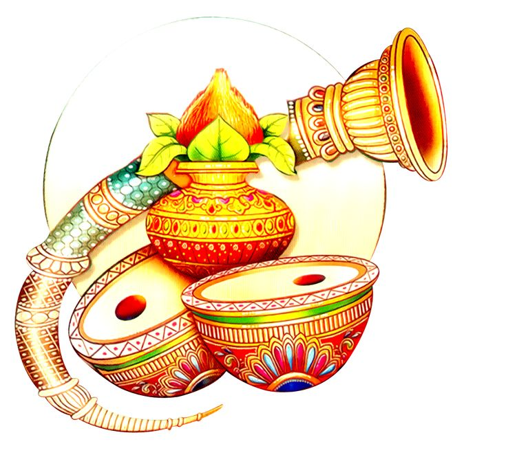 Wedding Kalash Clipart