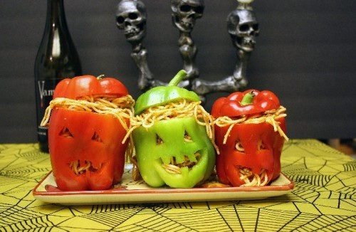 Halloween Spaguetti Madness #Spooky