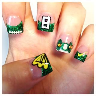 oregon duck nail art