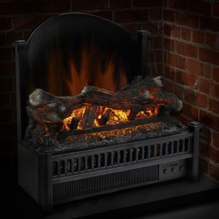 $118 Pleasant Hearth 23 in. Electric Fireplace Insert