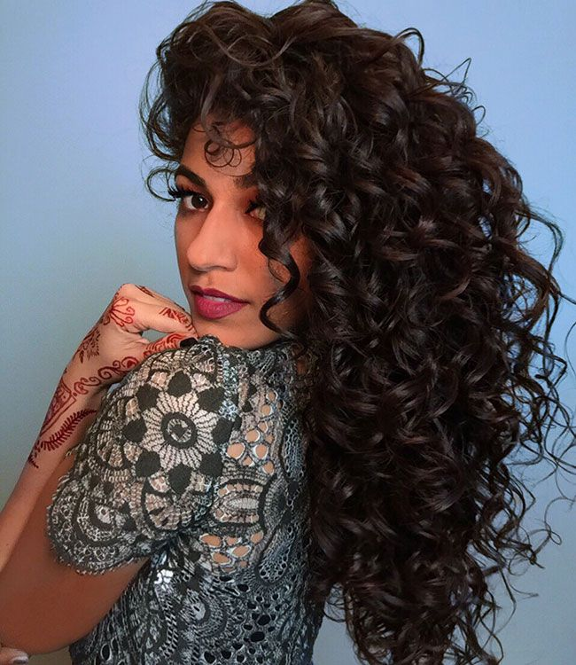 Ayesha shares her secret trick for getting volume despite her long hair.