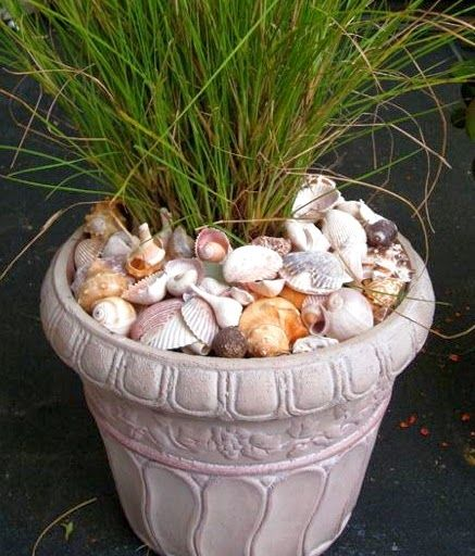 nautical backyard planters | Awesome Porch & Garden Planters with a Coastal and Nautical Theme