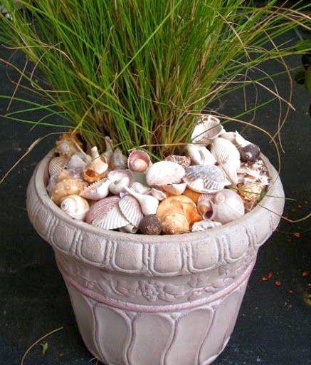 nautical backyard planters | Awesome Porch & Garden Planters with a Coastal and Nautical Theme