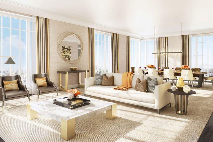 THE KENT  |  LIVING ROOM | Hotel design industry, unique designs, top designer brands | #hotelinteriordesign #versatiledesignstyle #passionfordesign | More: https://www.brabbucontract.com/design-ebooks