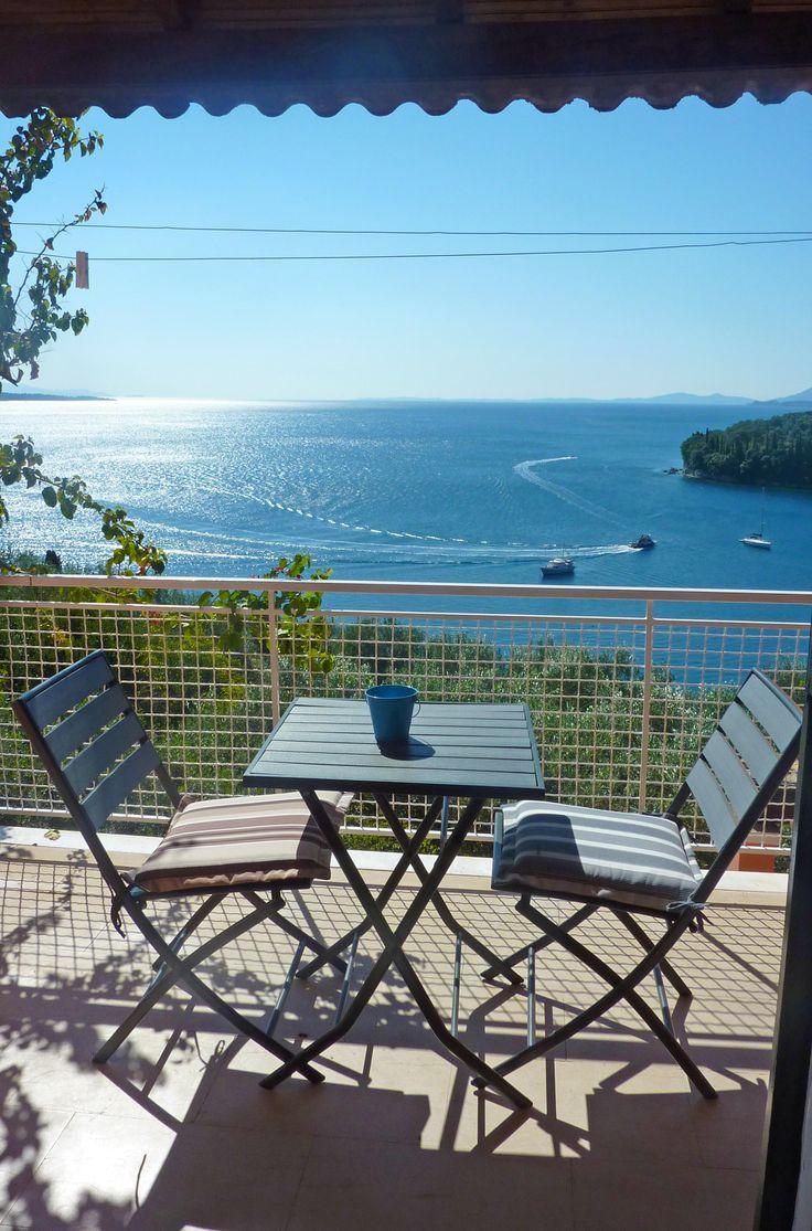 The best view in Kalami! Visit us at casakalami.com :))