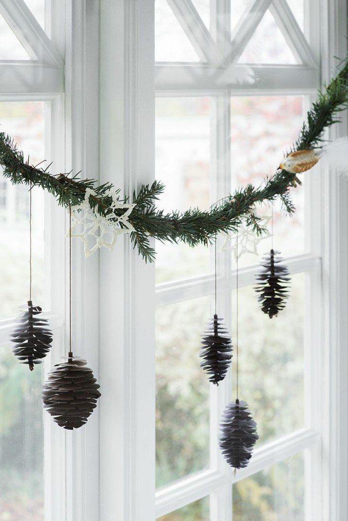 Weihnachtsdeko nach skandinavischer Art