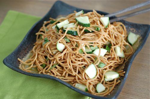 Peanut-Thai Pasta: Peanuts, Pasta Salad, Pasta Recipes, Peanut Thai Pasta, Made Pasta, Mara S Peanut Thai, 100 Days, Real Food