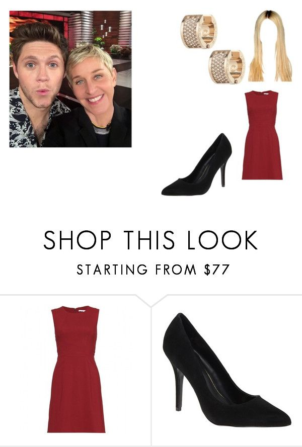 """""""The Ellen Show with Niall"""" by cavallaro ❤ liked on Polyvore featuring Diane Von Furstenberg, MANGO and Michael Kors"""