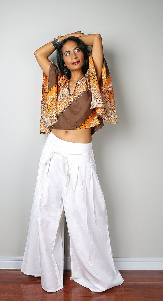 how to wear white linen pants see through