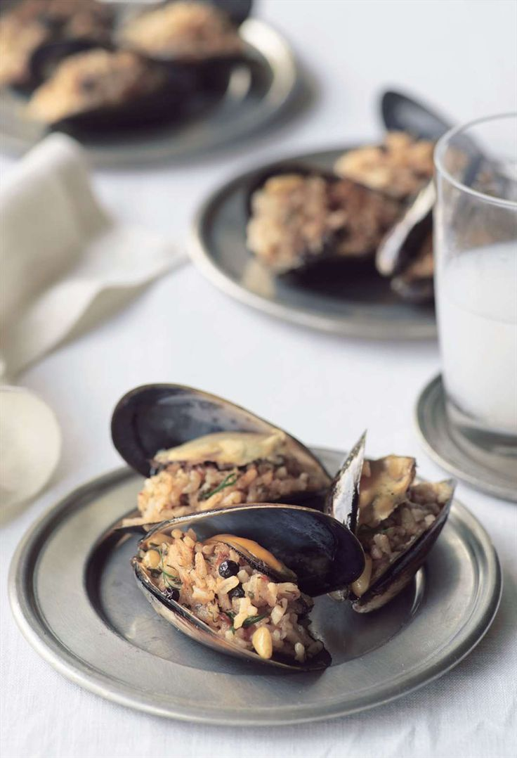 Stuffed mussels, Istanbul street-style by Greg & Lucy Malouf from Turquoise   Cooked