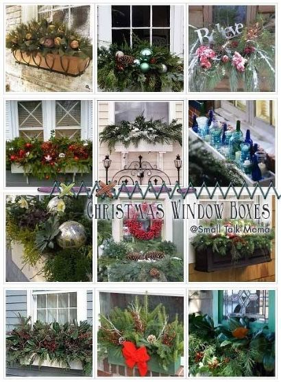 Top 66 ideas about WINDOW BOXES Christmas on Pinterest | Planters ...