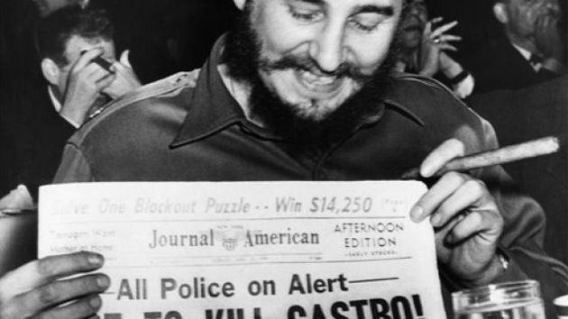 Diez formas más curiosas que la CIA empleó para tratar de acabar con Fidel Castro