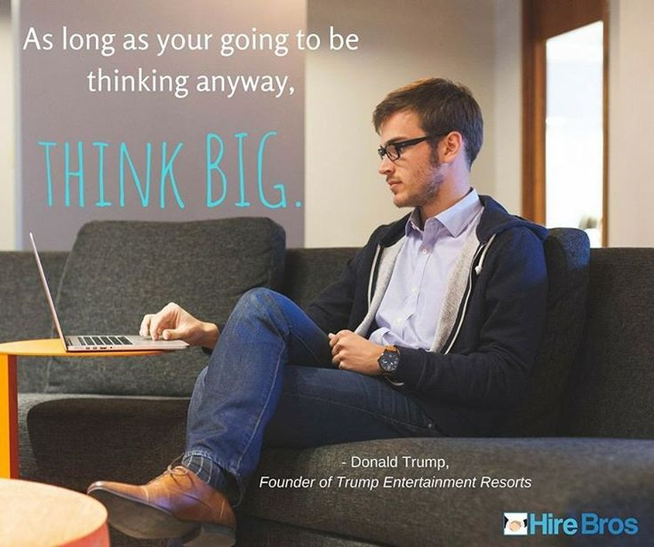 Thinking big is success consciousness.