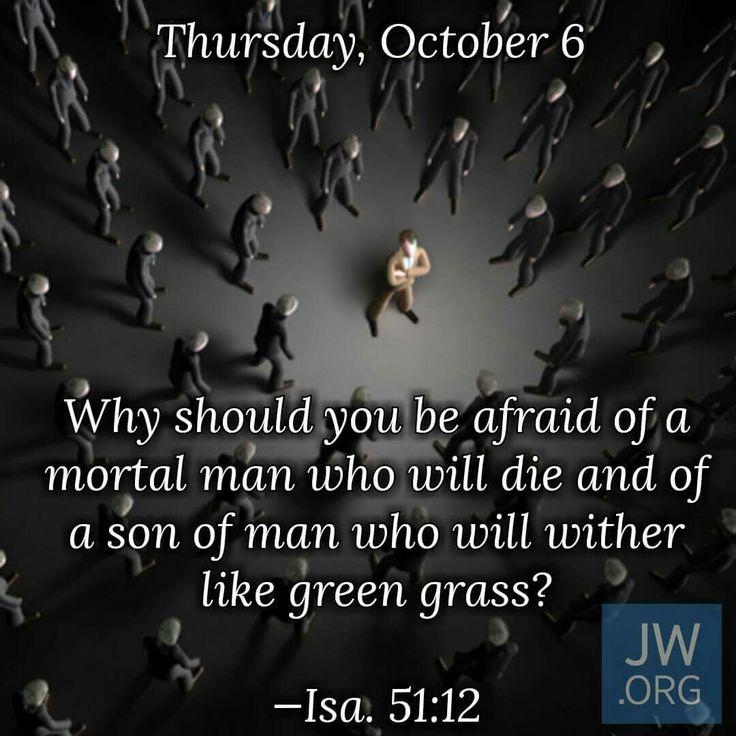 Daily Text - Thursday, October 6 http://wol.jw.org/en/wol/h/r1/lp-e