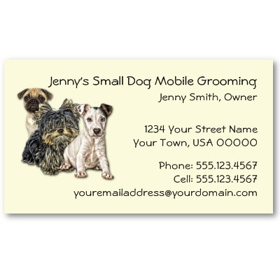 117 best mobile pet grooming images on pinterest mobile pet dog grooming business card on zazzle solutioingenieria Gallery