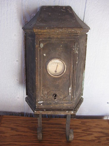 Vintage Tudor Mailtainer Mailbox With Thermometer Ebay