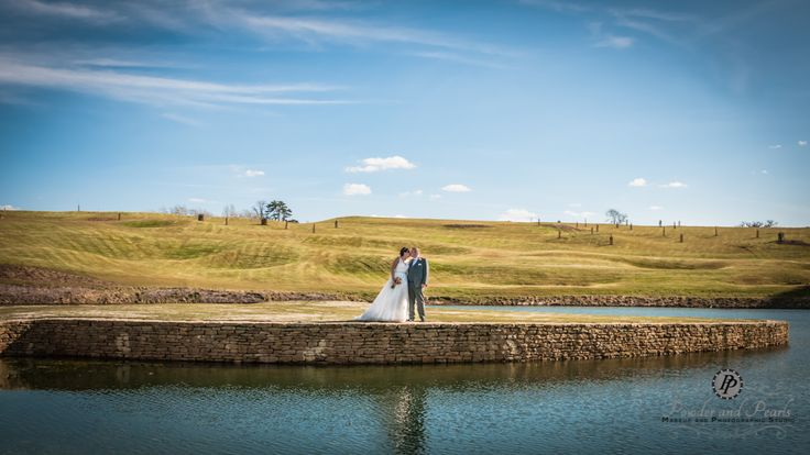 The bride and groom at Cumberwell Park golf club