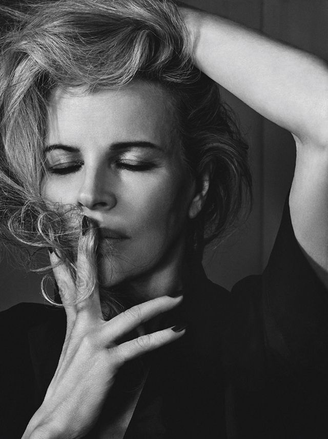 Kim Basinger by Craig McDean for Interview March 2014
