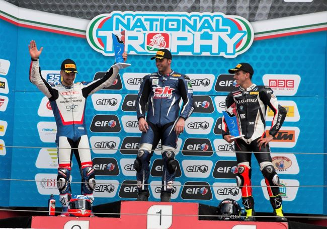 Motori Federico DAnnunzio conquista un doppio podio a Imola