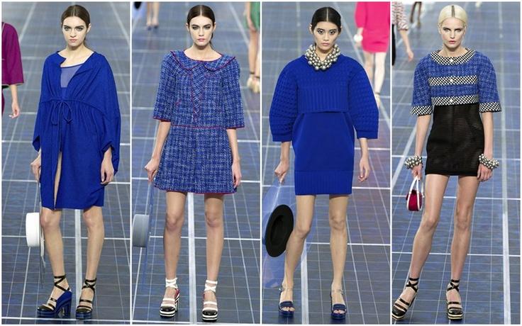 Cobalt Blue - Chanel ss13