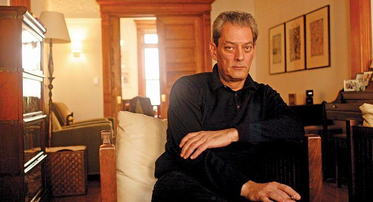 """Paul Auster: """"Yazmak  benim için  fiziksel bir şey."""""""