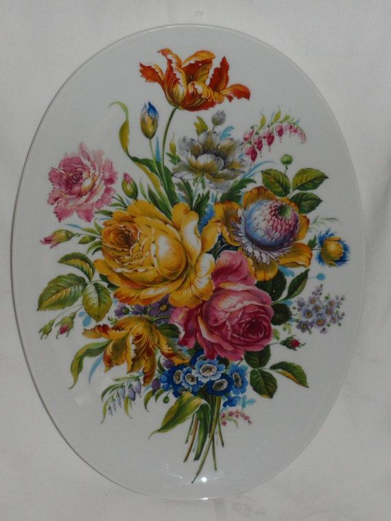 RARE BAYREUTH from Royal Gloria Fine Porcelain Wall by BYGONERA