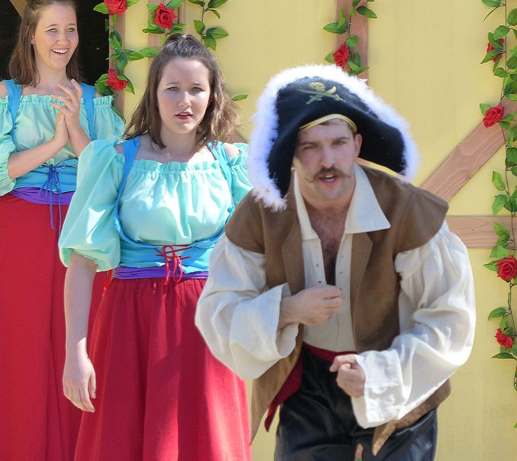 'Pirates of the Coral Sea' at the Gold Coast Renaissance Faire