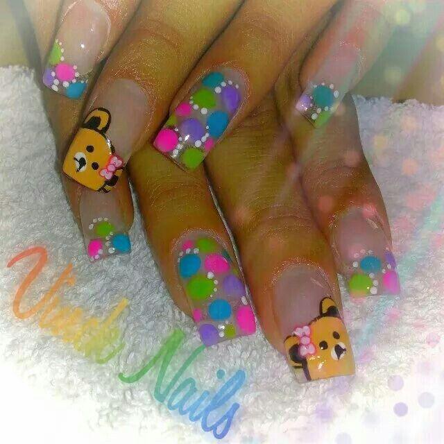 46 best uñas jenny images on Pinterest   Nail art designs, Nail ...