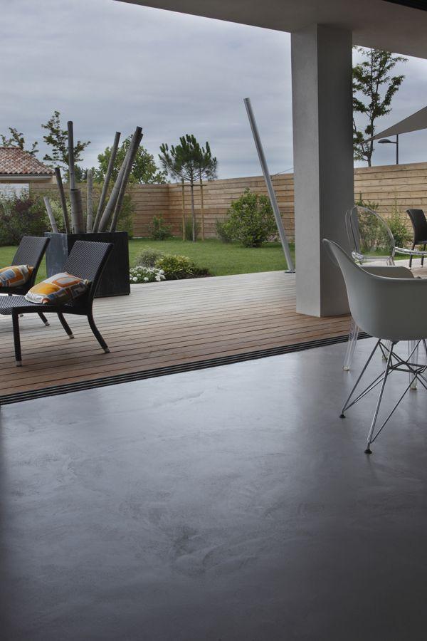 9 best Béton ciré Mau0027s by Nancy Geernaert - 1 images on Pinterest - beton decoratif pour terrasse