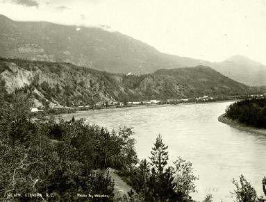 Glenora, Stikine River, Tahltan Territory, 1874. Photo: British Columbia Archives