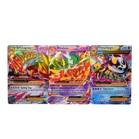 18Pcs EX Card Set MEGA Pokemon Cards Charizard Blastoise Venusaur HITC - Walmart.com | @giftryapp