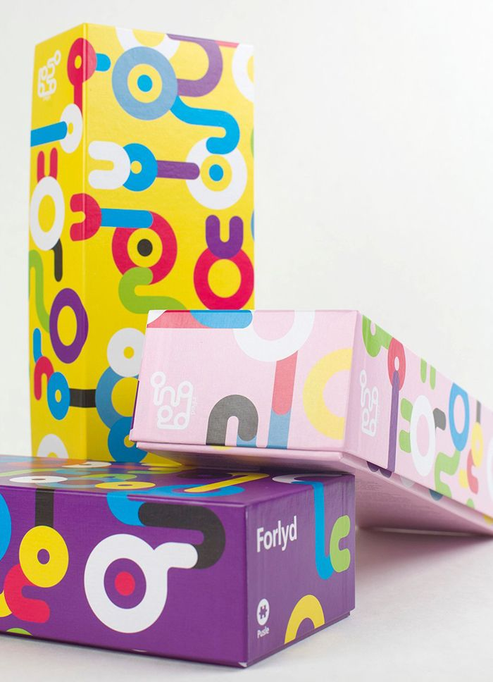 inPed Puslespill. Packaging designed by Ghost.