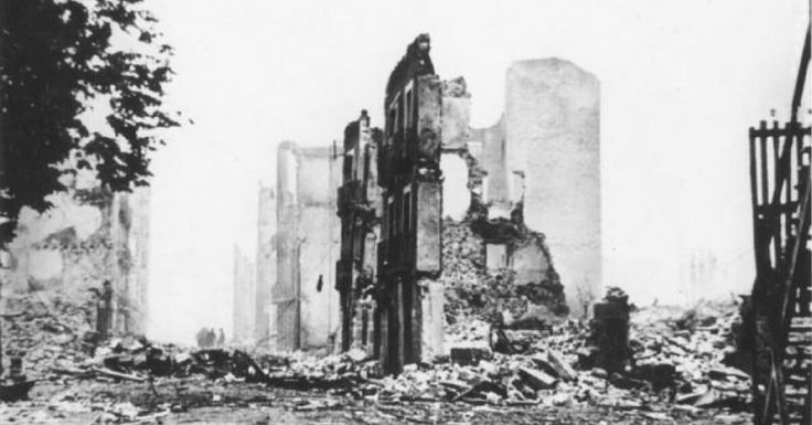 The Luftwaffe's Trial Run – 1937 Bombing of Guernica