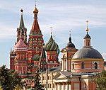 Купола Московских храмов