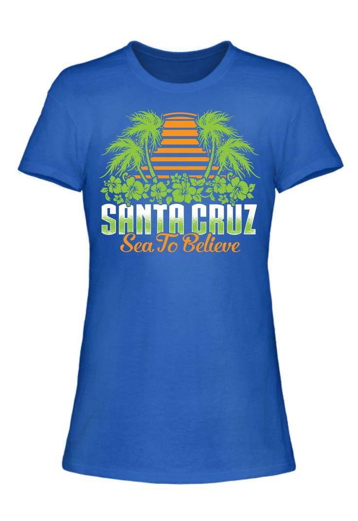 Santa Cruz Sea to Believe (Ladies Tee)