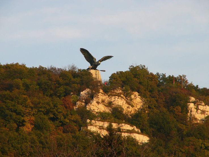 Ancient Hungarian symbol of the turul bird