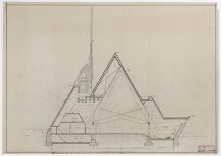"""il progetto """"ridotto"""" (marzo 1957)"""