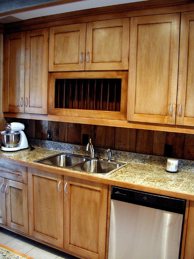 Kitchen Remodel With Wood Countertops