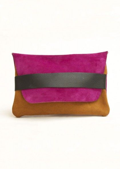 The Envelope - Fuchsia and Sand